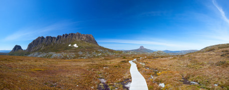 Cradle Mountain and Barn Bluff