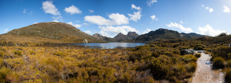 Dove Lake and Cradle Mountain